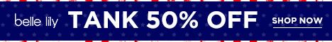 Tank 50% off