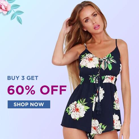 Buy 3 get 60% off